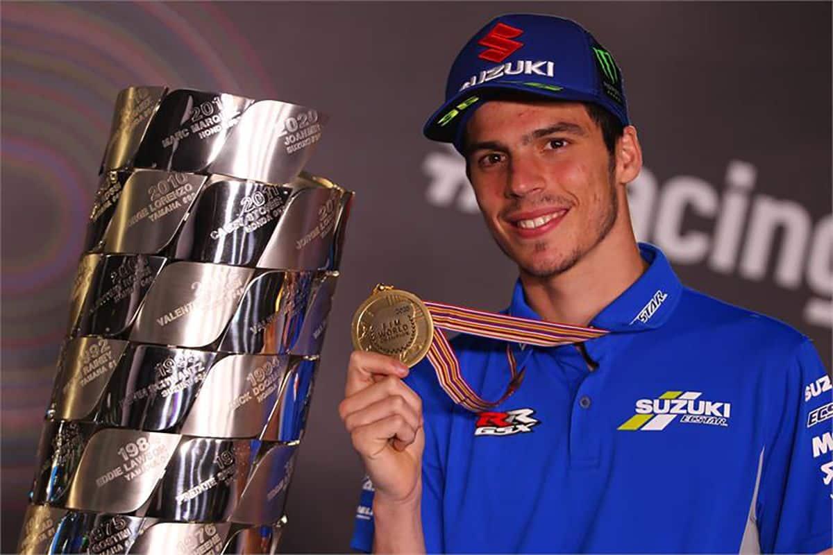Joan Mir, campeón del mundo de MotoGP // Foto: MotoGP